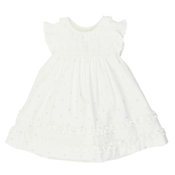 Bebe Frill Sleeve Sparkle Dress