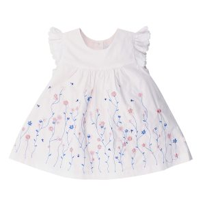 Bebe Grace Embroidered Dress