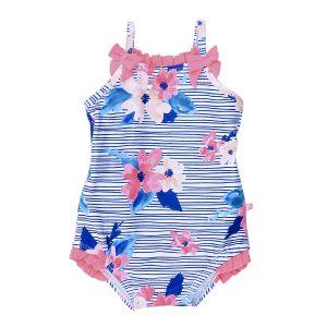 Bebe Elle Floral Print Swim Suit