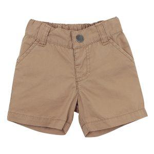 Bebe Theo Caramel Woven Shorts