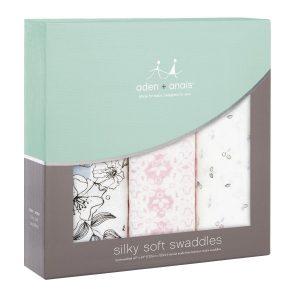 Aden + Anais Meadowlark Silky Soft Swaddles
