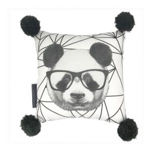 And The Little Dog Percival Panda Cushion