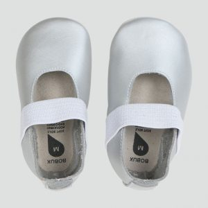 Bobux Demi Soft Sole Shoe Silver