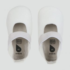 Bobux Demi Soft Sole Shoe White