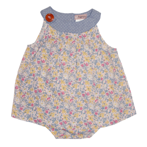 Love Henry Sofia Playsuit Bright Floral