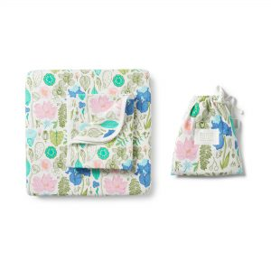 Wilson and Frenchy Flora Bassinet Sheet Set
