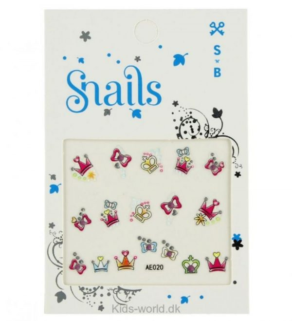 Snails Princess Nail Stickers