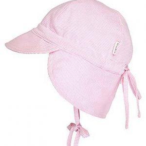 Toshi Flap Cap Baby Blush