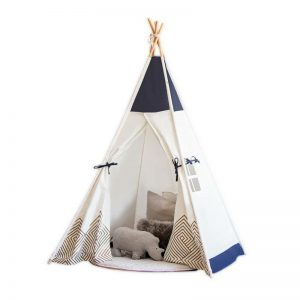 Cattywampus Gold Cloud Teepee