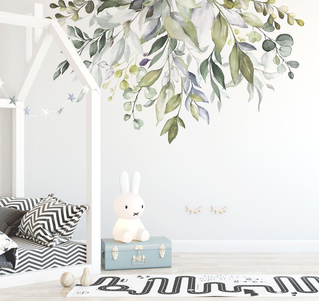 Ginger Monkey Native Garden Wall Decal Bedroom Decor Babyroad