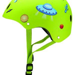 Globber Green Rocket Helmet