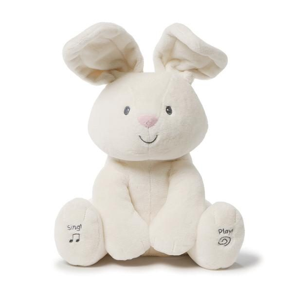 Gund Sing and Play Flora Bunny