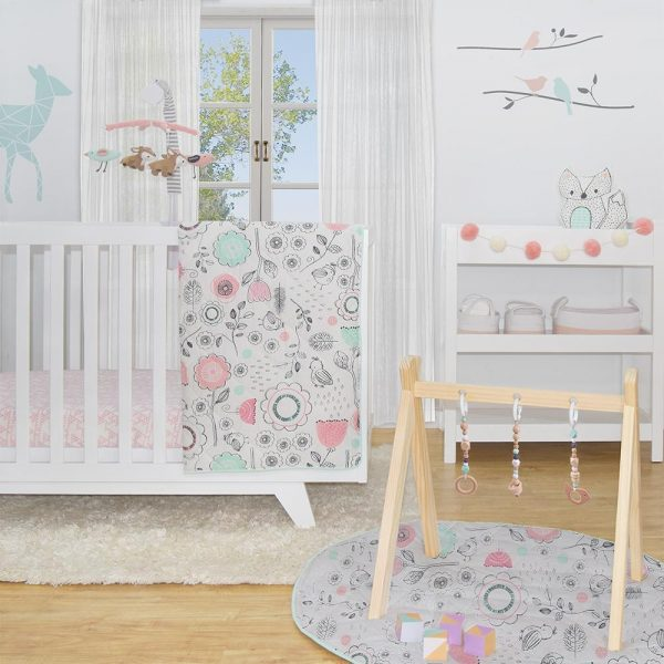 Lolli Living Sparrow 4 Piece Nursery Set