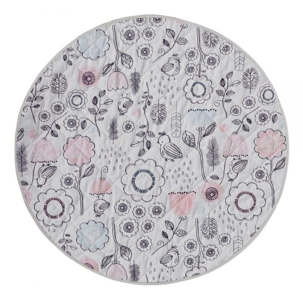 Lolli Living Sparrow Round Play Mat