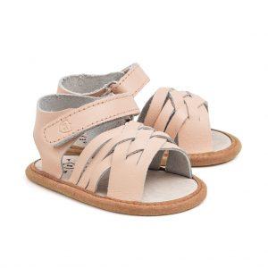 Pretty Brave Woven Pink Sandal