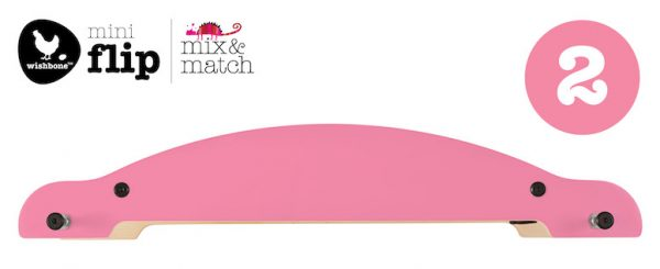 Wishbone Mini Flip Customize Base Pink