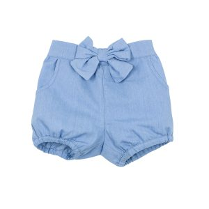 Bebe Abby Chambray Shorts