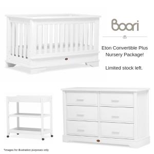 Boori Eton Convertible Plus Nursery Package