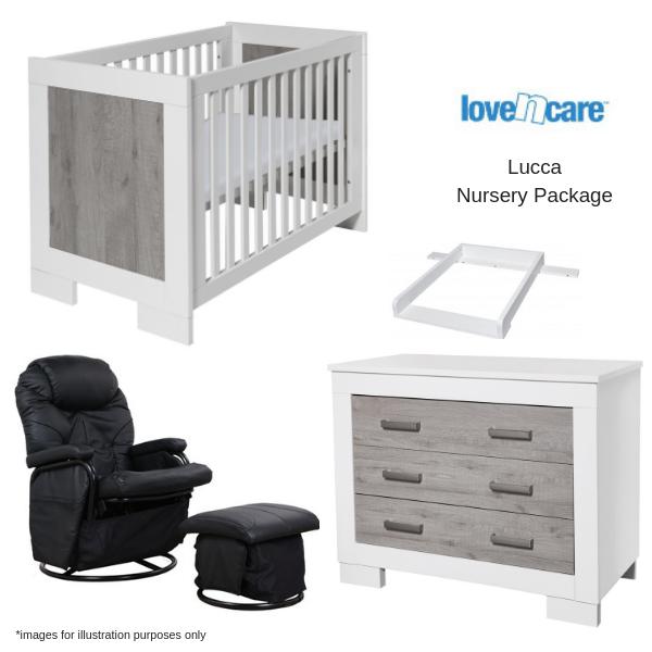 Love n Care Lucca Nursery Package