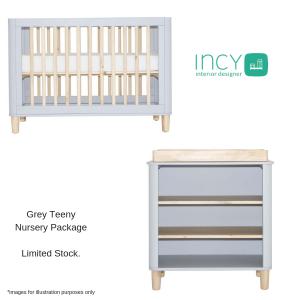 Incy Grey Teeny Nursery Package