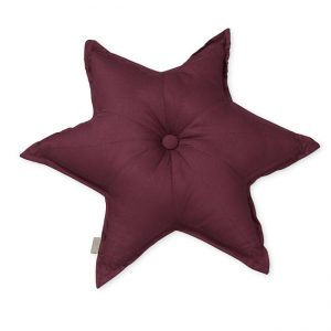 Cam Cam Bordeaux Star Cushion