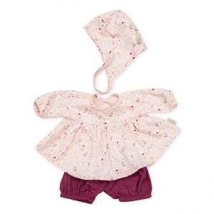 Cam Cam Copenhagen Doll's Clothing Set & Bonnet Fleur