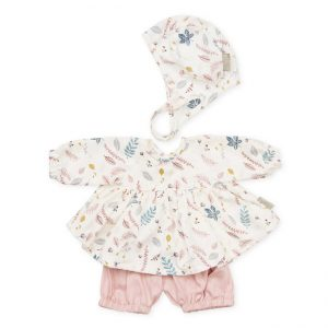 Cam Cam Copenhagen Doll's Clothing Set & Bonnet Pressed Leaves