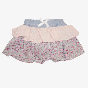 Love Henry Frilly Pilcher Skirt Pink