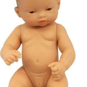 Miniland Asian Baby Girl 32cm Doll