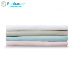 Bubbaroo Platinum Cot Sheet