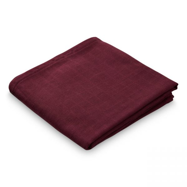 Cam Cam Copenhagen Muslin Cloth Bordeaux