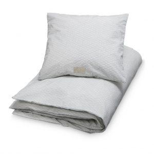 Cam Cam Copenhagen Grey Wave Cot Bedding