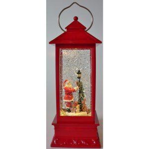 Christmas Santa Red Lantern
