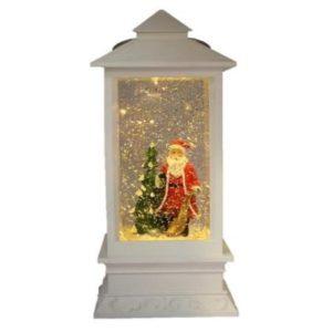 Christmas Santa White Lantern