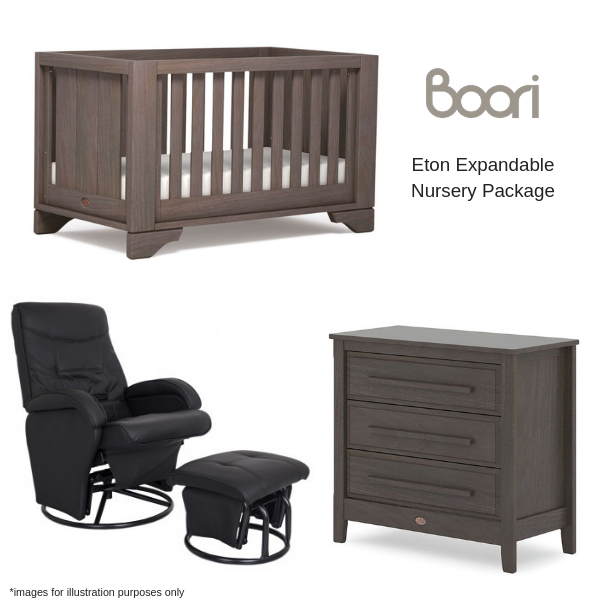 Boori Eton Expandable Nursery Package
