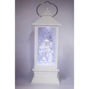 Fairy With a Bird White Lantern