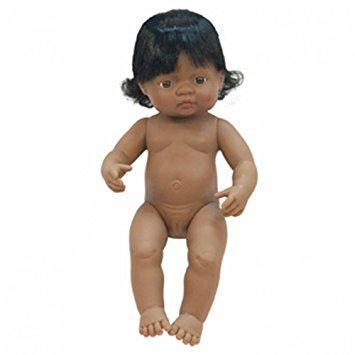 Miniland Doll Latin American Girl 38cm