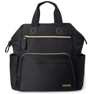 Skip Hop Main Frame Wide Open Backpack Black