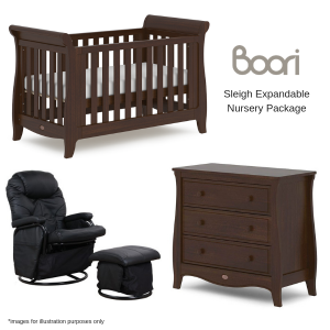 Boori Sleigh Expandable Nursery Package
