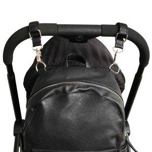 Vanchi Pram Caddy/Bag Clips Black