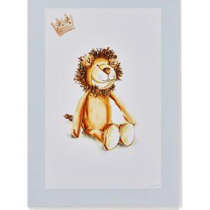 Nana Huchy Hunter the Lion Print