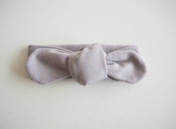 Snuggle Hunny Kids Grey Topknot Headband