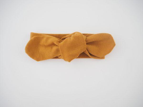 Snuggle Hunny Kids Mustard Topknot Headband