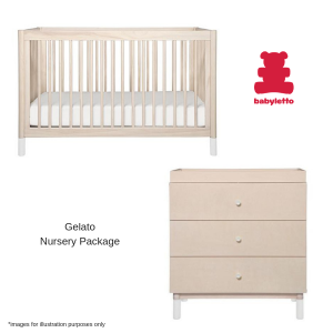 BabyLetto Gelato Nursery Package