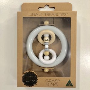 Luna Treasures Mini Grasp Ring Elsie Grey