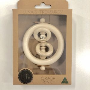 Luna Treasures Mini Grasp Ring Elsie Natural