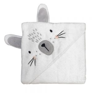 Mister Fly Bunny Hooded Towel