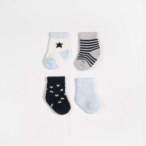 Petit Lem Socks 4 Pack Navy