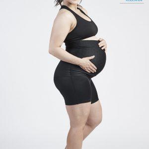 SRC Pregnancy Over the Bump Mini Shorts
