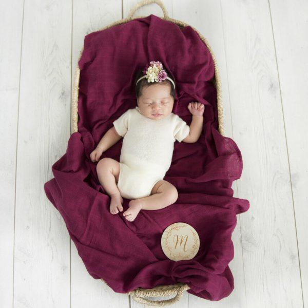 Snuggle Hunny Kids Ruby Organic Muslin Wrap
